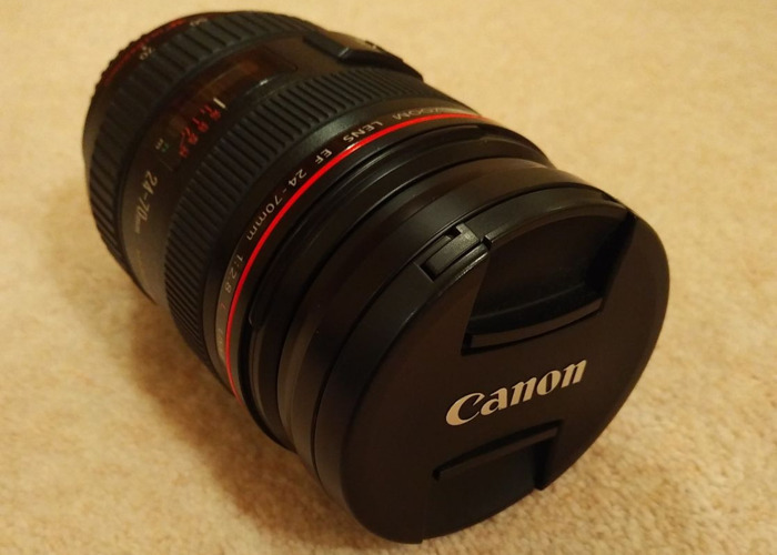 Canon EF 24-70mm f/2.8 - MINT CONDITION! - 1