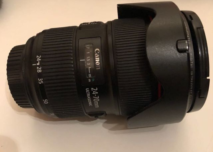 Canon EF 24-70mm f/2.8 II USM Zoom Lens - 1