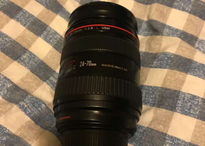 Canon EF 24-70mm f2.8 L lens - 2