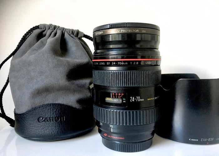 Canon EF 24-70mm f2.8 L USM Lens - 1