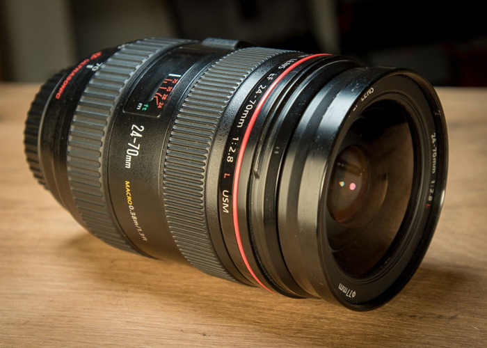 Canon EF 24-70mm f2.8 ZOOM lens - 1