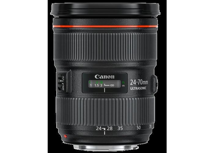 Canon EF 24-70mm f2.8L II USM Lens - 1