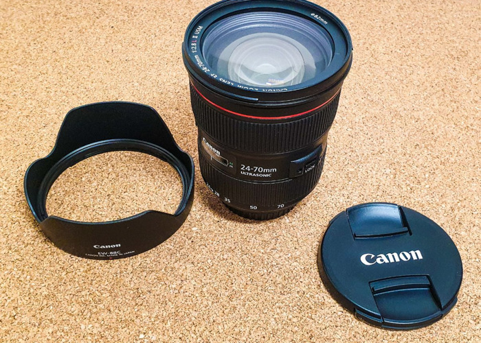 Canon EF 24-70mm f/2.8L II USM Lens - 1