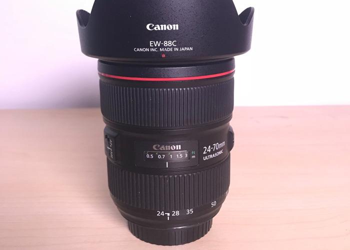 Canon EF 24-70mm f/2.8L II USM L-Series Zoom Lens - 2