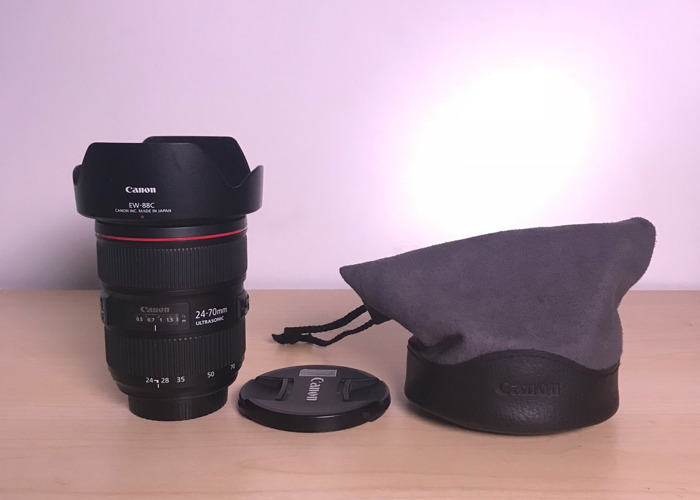Canon EF 24-70mm f/2.8L II USM L-Series Zoom Lens - 1