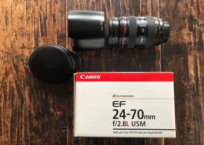 Canon EF 24-70mm f2.8L USM zoom - 1