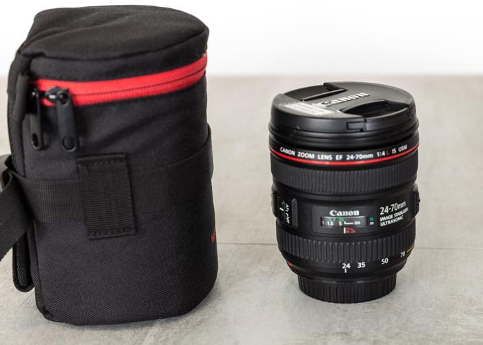 Canon EF 24-70mm f/4L IS USM Lens - 1