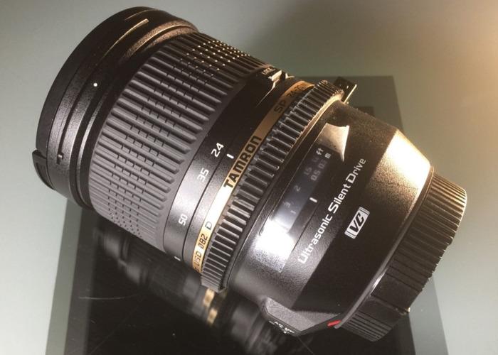 Canon EF 24-70mm Tamron f/2.8 Di VC USD SP Zoom Lens - 2