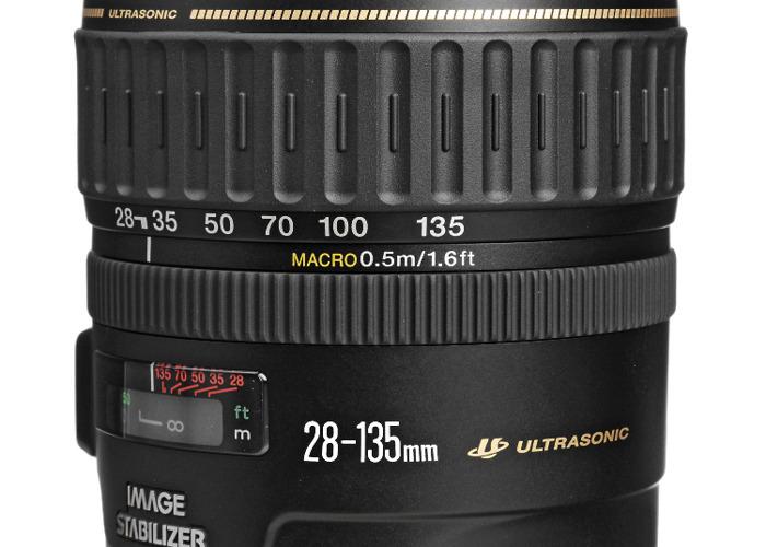 Canon EF 28-135mm f/3.5-5.6 IS USM Lens - 1