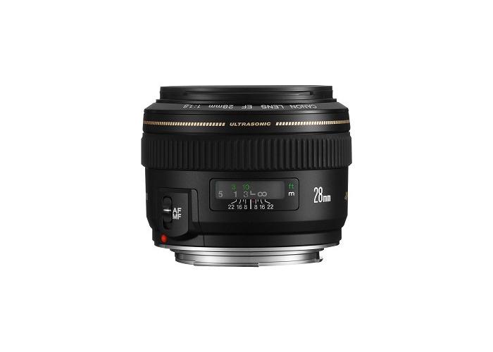 Canon EF 28mm f1.8 USM Lens - 1