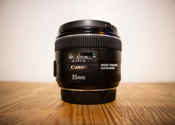 Canon EF 35mm f/2 IS USM - 1