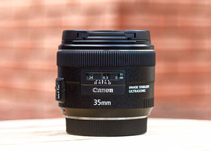 Canon EF 35mm f/2 IS USM Lens - 1