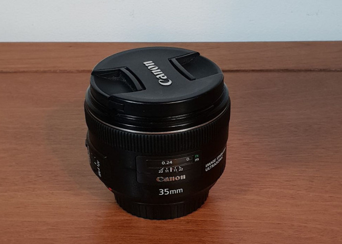 Canon 35 mm f/2 IS USM Lens - 1