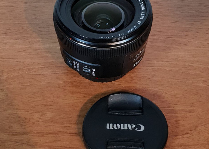 Canon 35 mm f/2 IS USM Lens - 2