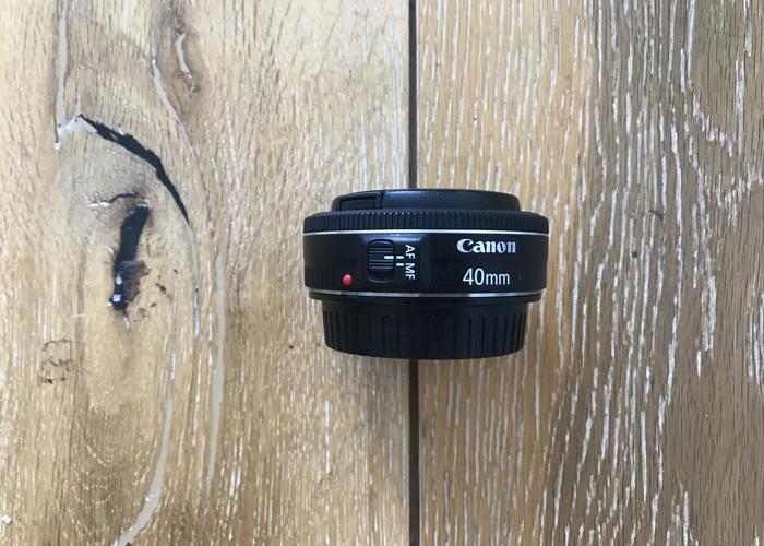 Canon EF 40mm f2.8 STM Lens - Pancake - 1