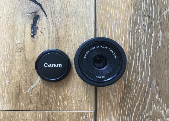 Canon EF 40mm f2.8 STM Lens - Pancake - 2