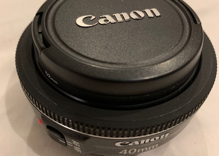 Canon EF 40mm f/2.8 STM Pancake Prime Lens with UV filter - 2