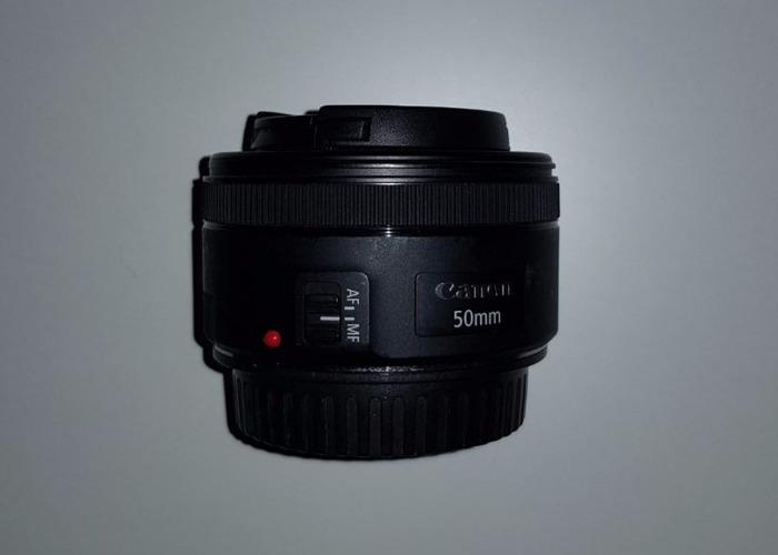Canon EF 50mm 1.8 STM Lens - Manchester - 1