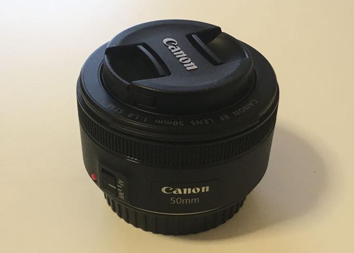 Canon EF 50 mm f/1.8 STM Lens - 1