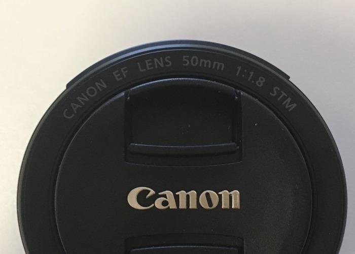 Canon EF 50 mm f/1.8 STM Lens - 2
