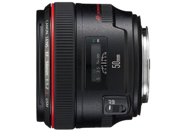Canon EF 50 mm f/1.2L USM Lens - 1