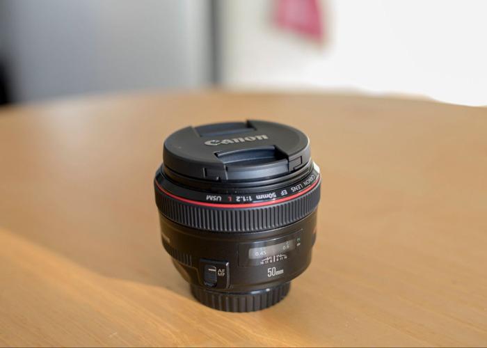 Canon EF 50 mm f/1.2L USM Lens - 2