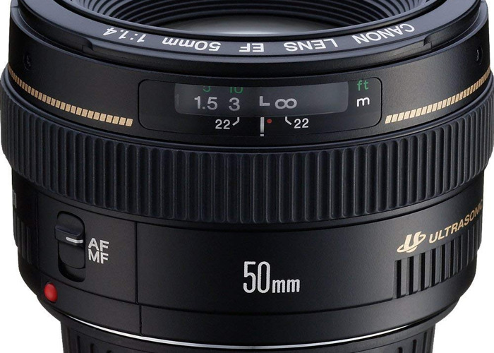 Canon EF 50mm 1.4 - 1