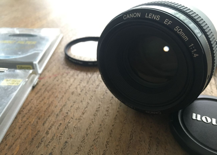Canon EF 50mm 1.4 Lens - 2