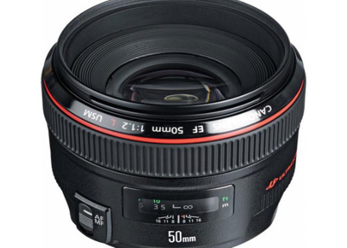 Canon EF 50mm f/1.2 L USM - 2