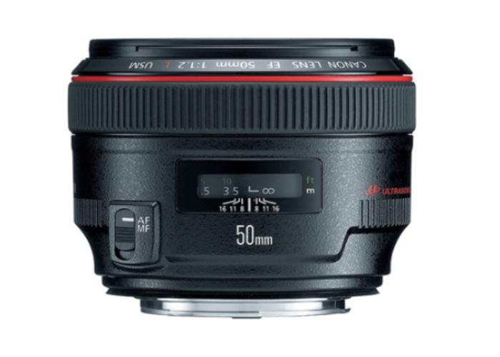 Canon EF 50mm f/1.2 L USM - 1