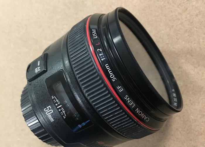 Canon EF 50mm f/1.2L USM - 1