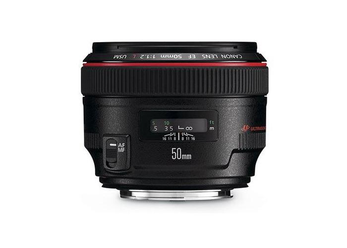 Canon EF 50mm f1.2L USM Lens - 1