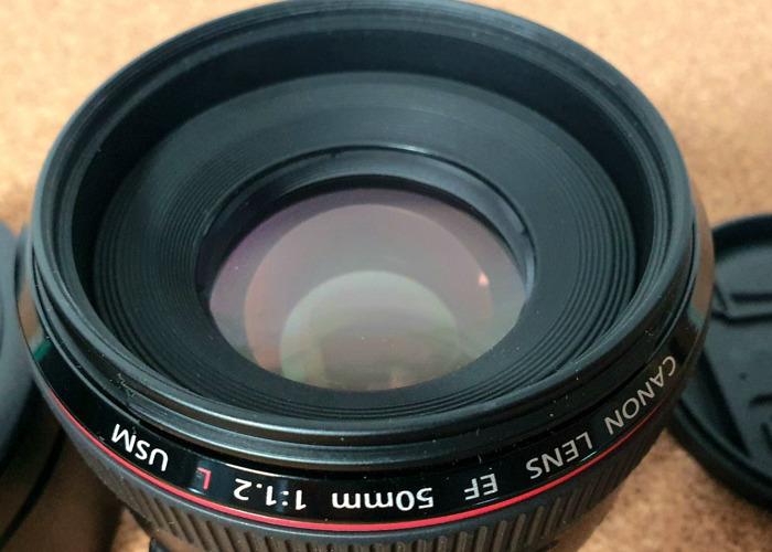 Canon EF 50mm f/1.2L USM Lens - 2