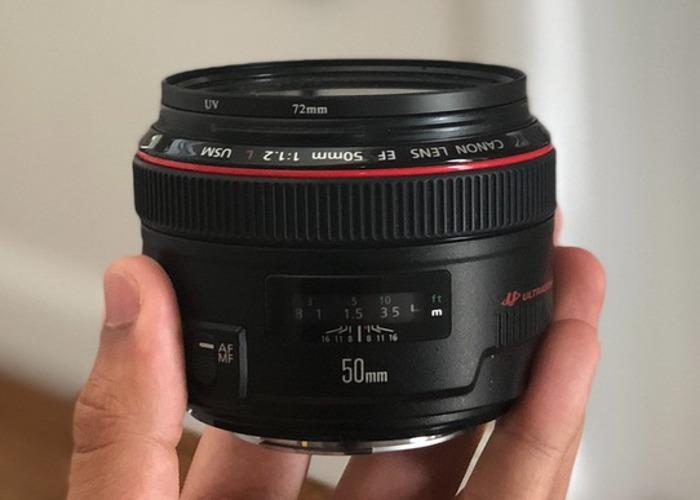 Canon EF 50mm f/1.2L USM Lens - 1