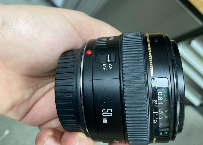 Canon EF 50mm F1.4 - 1