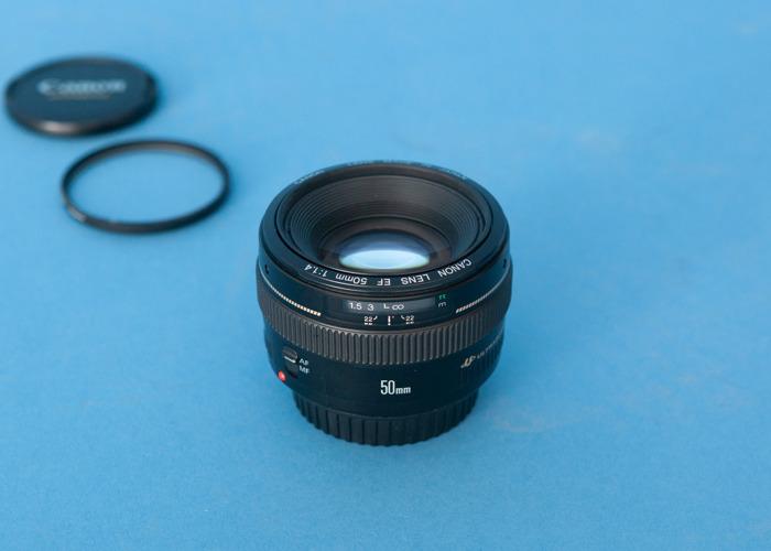 Canon EF 50mm f1.4 Lens - 1