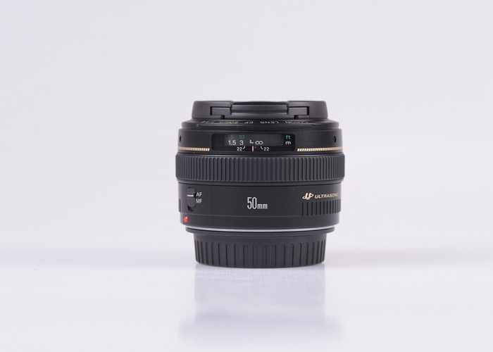 Canon EF 50mm f/1.4 USM - Lenses - 1