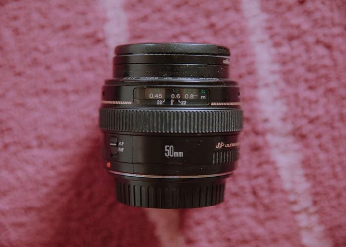 Canon EF 50mm f/1.4 USM Lens - 1