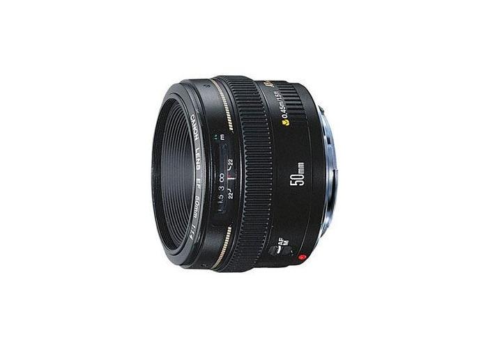 Canon EF 50mm f1.4 USM Lens - 1