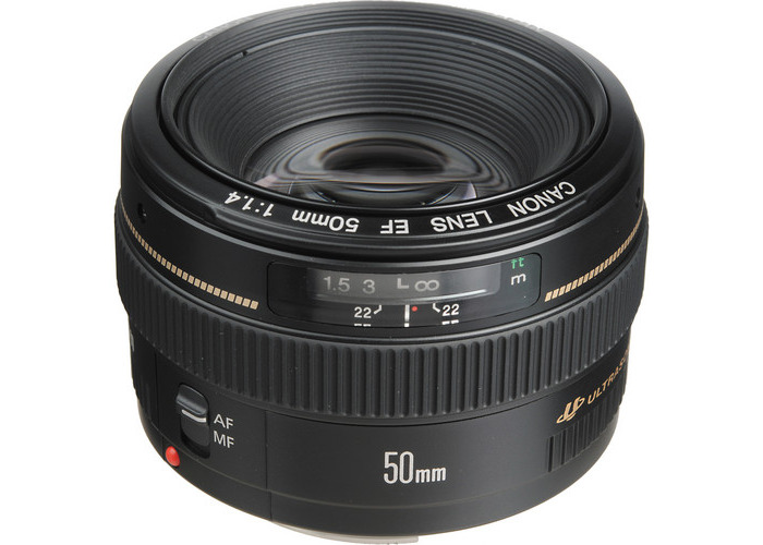 Canon EF 50mm f/1.4 USM Lens - 2