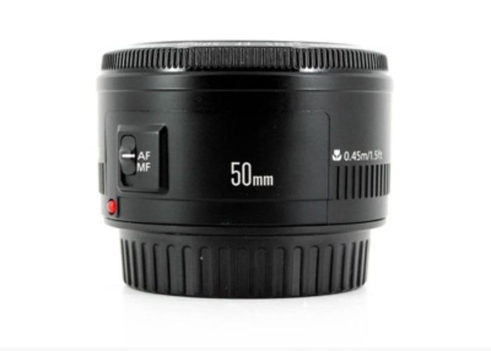 Canon EF 50MM f/1.8 II Lens - 2