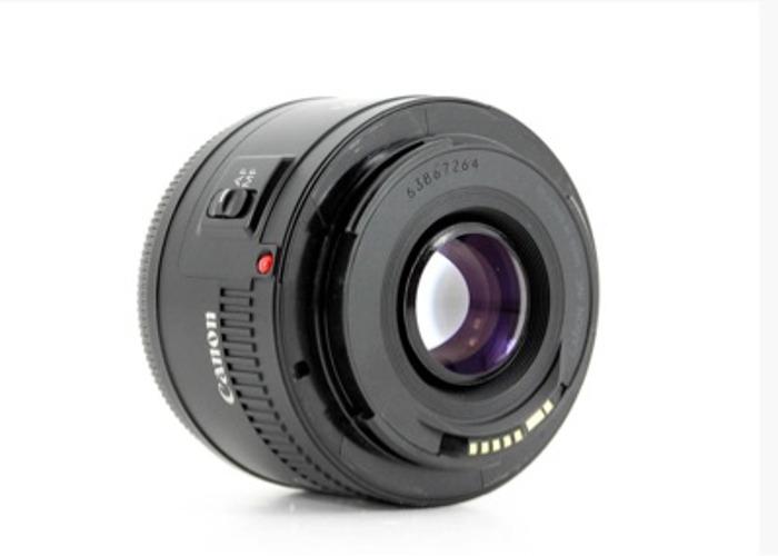 Canon EF 50MM f/1.8 II Lens - 1