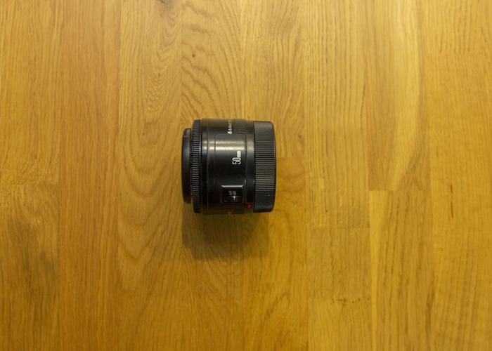 Canon EF 50mm f/1.8 Prime Lens - 1