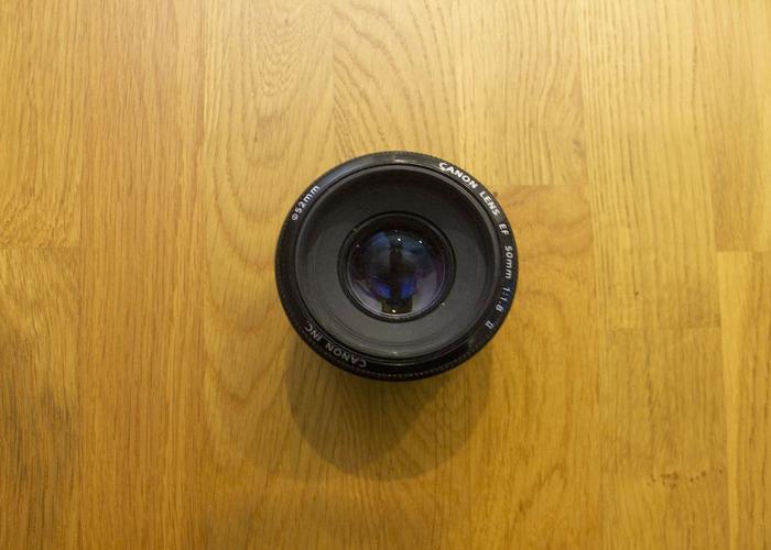 Canon EF 50mm f/1.8 Prime Lens - 2