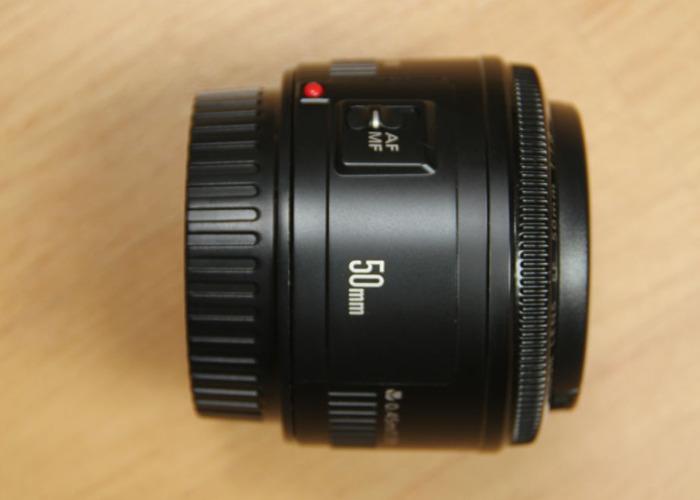 Canon EF 50mm f/1.8 STM - 1