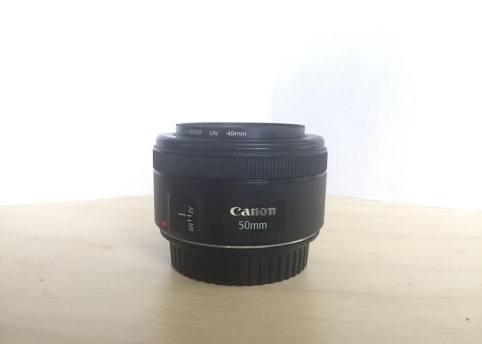 Canon EF 50mm f/1.8 STM Lens - 1