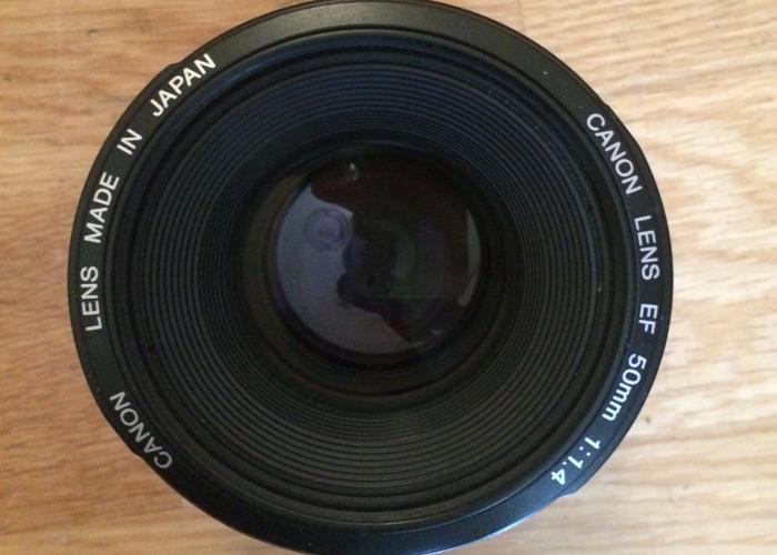 Canon EF 50mm F/1.4 STM Prime Lens - 2
