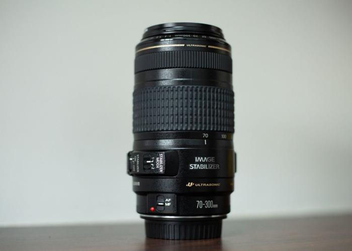 Canon EF 70 - 300mm f/4 - 5.6 lens - 1