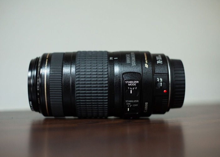 Canon EF 70 - 300mm f/4 - 5.6 lens - 2