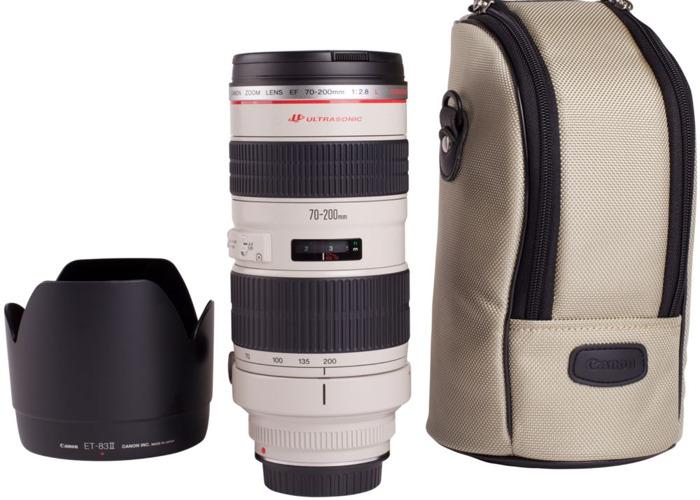 CANON EF 70-200 mm f/2.8 L USM Telephoto Zoom Lens - 1